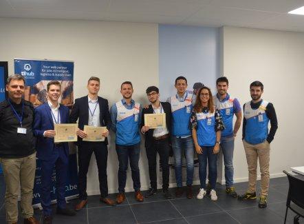 Karel de Grote-Hogeschool (Anvers) gagne la finale du TL Hub Business Game (Decathlon)