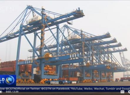 (Video) Ontdek de eerste 100% geautomatiseerde haven te Qingdao in China