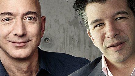 Amazon vs Uber : twee technologiereuzen ontwrichten de logistiek