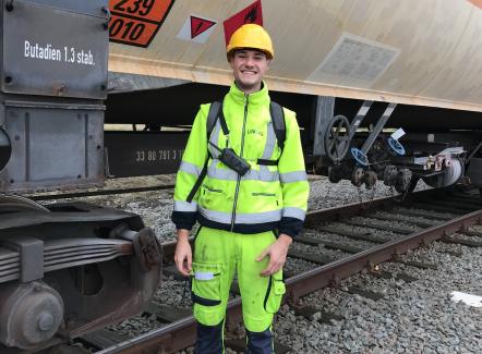 Wie is Remi Gjemajli, Operator Spoorwegen bij Lineas?