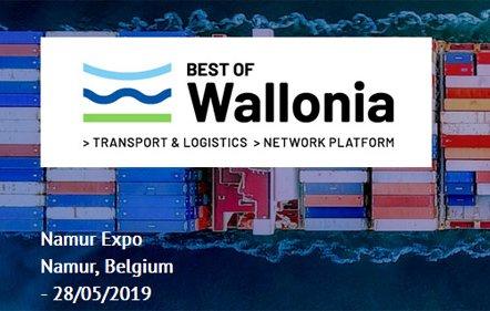 Best of Wallonia 2019 verenigt het kruim van de transport en logistieke sector in Namen
