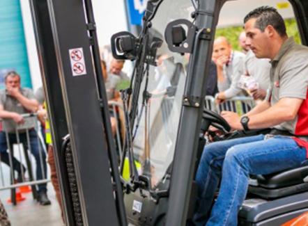 Linde zoekt de beste heftruckchauffeur van België