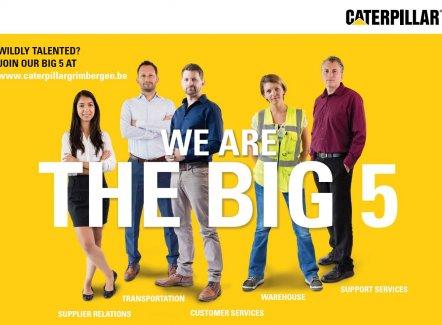 Caterpillar zoekt werknemers – en werkneemsters!