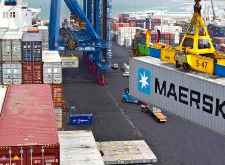 Ondanks handelsoorlog noteert Maersk betere cijfers