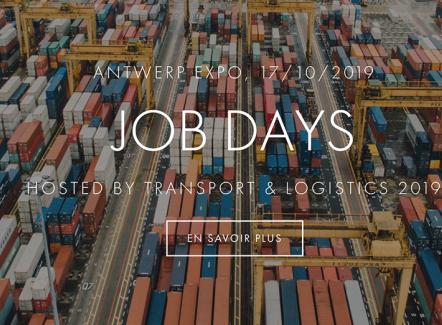 Découvrez le Job Day 100 % Transport & Logistique par TL Hub à Anvers