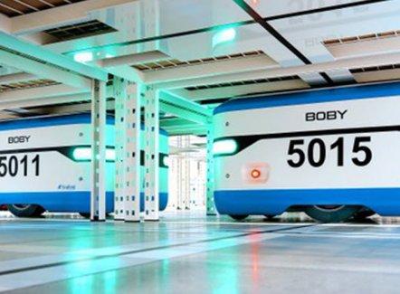Colruyt Group investeert in logistieke robots van Scallog
