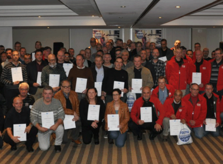 148 Belgische chauffeurs krijgen IRU-diploma
