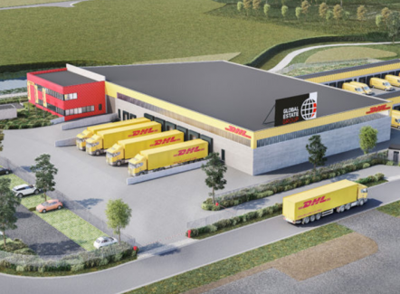 DHL Express distributiecentrum in Roeselare nu al operationeel