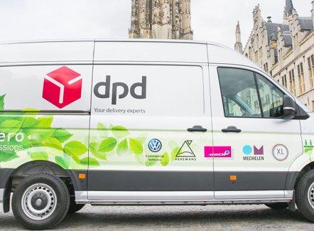 DPD : des camionnettes électriques testées à Malines
