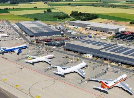 33 hectare meer beschikbaar rond Liege Airport