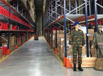 Katoen Natie se mue en Amazon pour la Défense