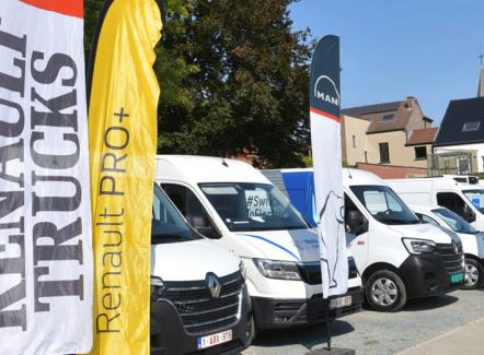 Les chiffres clés de la mobilité en Belgique montrent l'essor des utilitaires légers