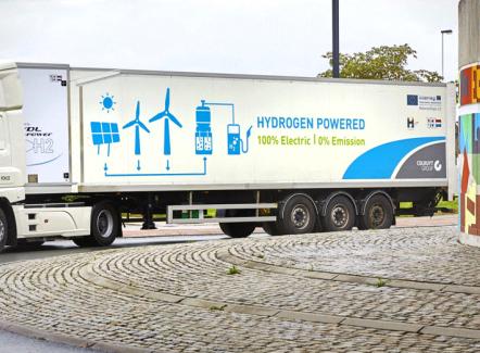 Objectif : 300 camions à hydrogène en Belgique d'ici 2025