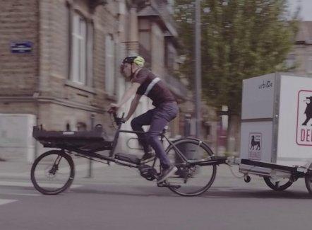 Bruxelles lance une prime pour la logistique à vélo
