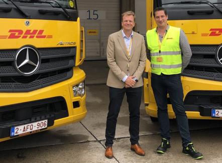 40 jaar samenwerking tussen Fraikin en DHL