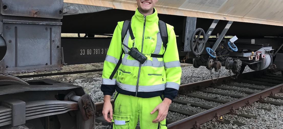 Qui est Remi Gjemajli, Railways Operator chez Lineas ?