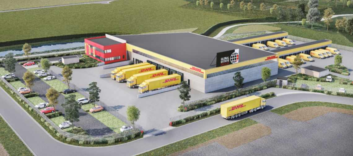 DHL Express distributiecentrum in Roeselare nu al operationeel