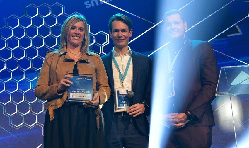 WSC Automotive wint de Logistics Employer of the Year 2020 by TL Hub