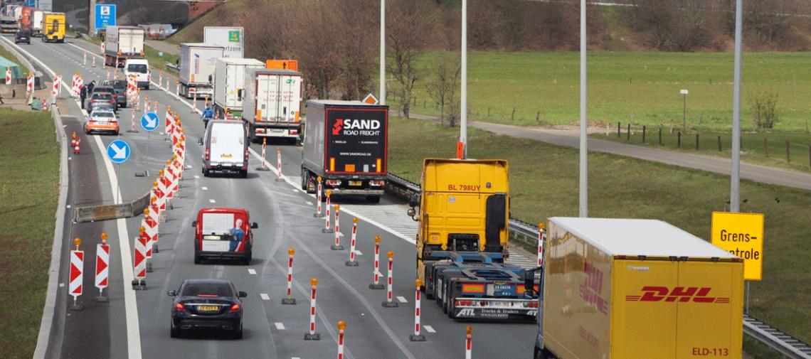 Het truckverkeer blijft groeien, maar langzamer