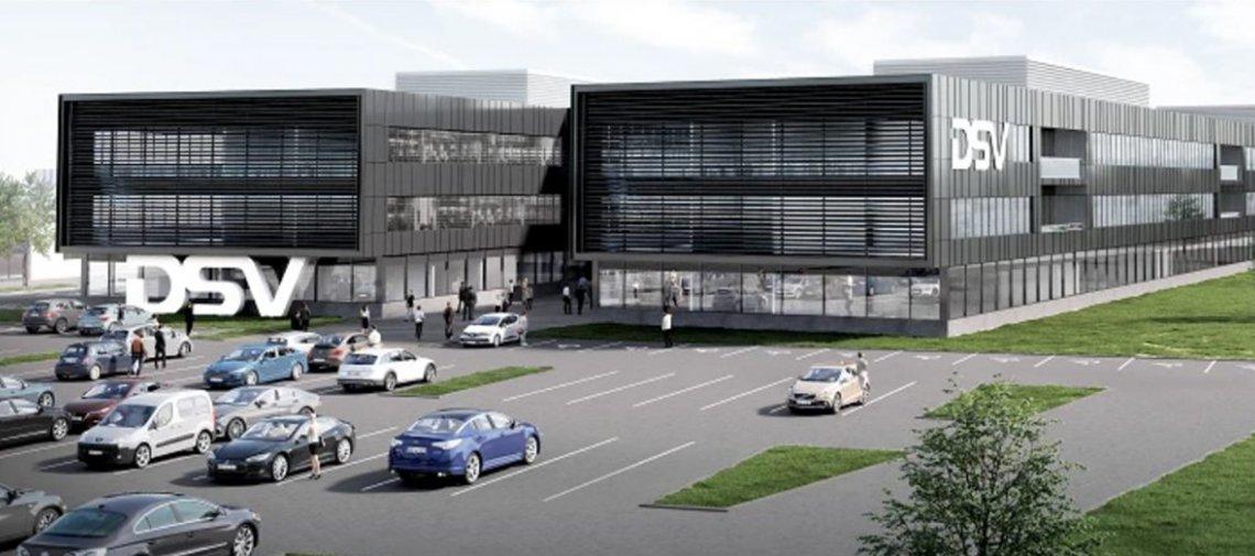 DSV kondigt grootste logistieke centrum van Europa in Denemarken aan