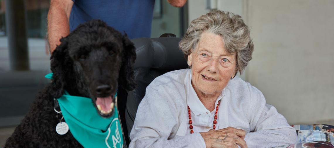 Van Moer Logistics apporte le bonheur aux maisons de repos et de soins