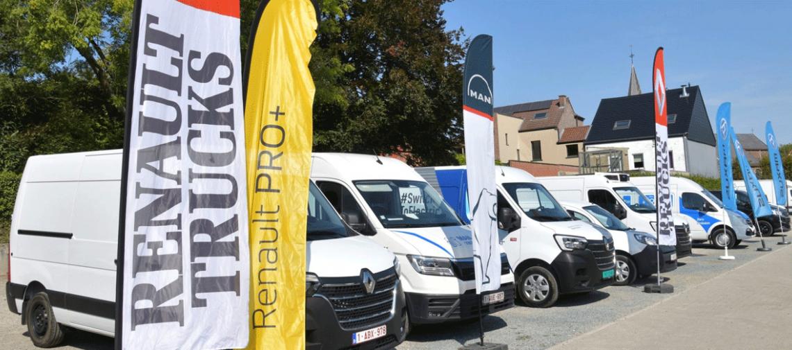 Kerncijfers Belgische mobiliteit tonen explosie bestelwagenmarkt