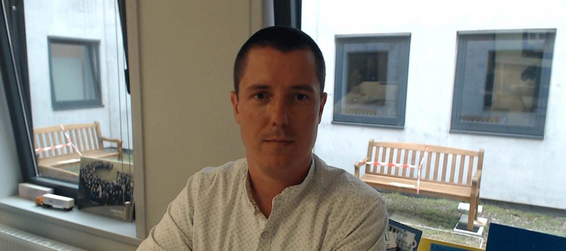 """""""Sinds de komst van COVID-19 is het belang en de zichtbaarheid van distributie blootgelegd"""". – Johan Sarazin, Warehouse Manager Colruyt Group"""