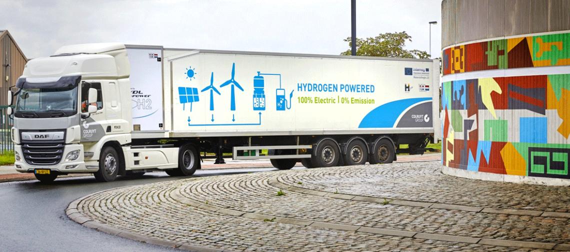 Doelstelling: 300 waterstoftrucks in België tegen 2025