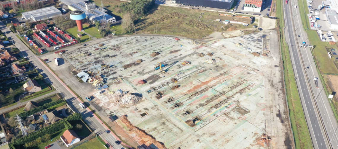 Heylen Warehouses construit un centre de distribution durable pour Lidl